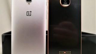【ハイスペック 中華スマホ 】Motorola Moto Z Moto X + OnePlus3筐体比較