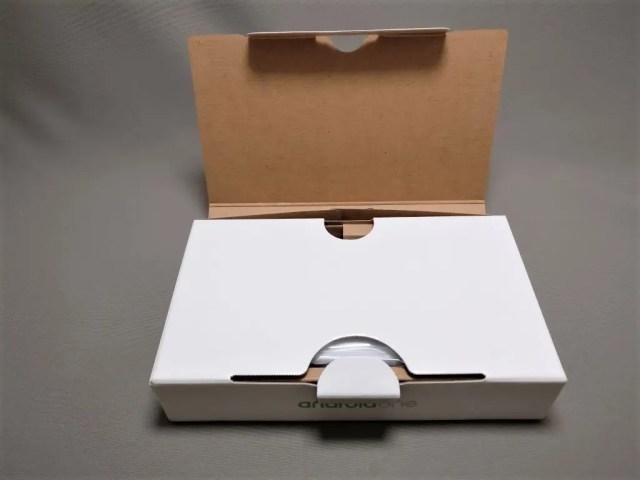 Sharp 507SH 化粧箱 オープン