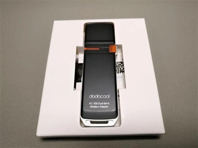dodocool AC1200デュアルバンド USB3.0 Wi-fiアダプタ 本体