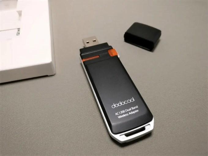 dodocool AC1200デュアルバンド USB3.0 Wi-fiアダプタ 本体2