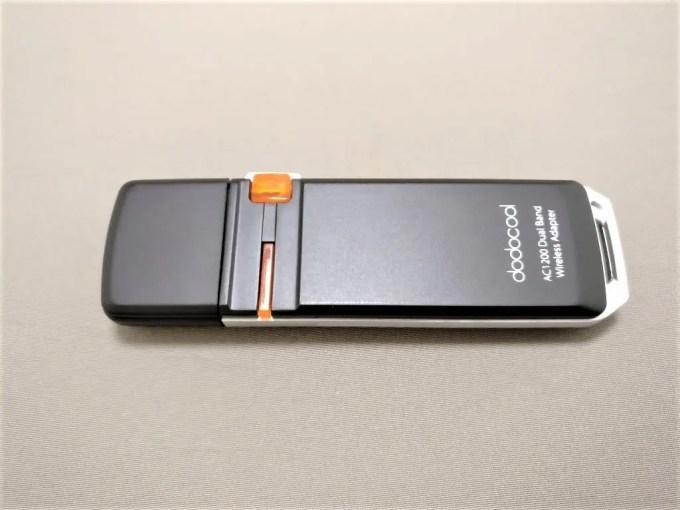 dodocool AC1200デュアルバンド USB3.0 Wi-fiアダプタ 本体 表