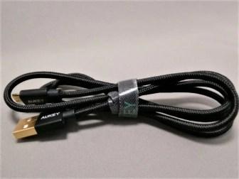 microusb ケーブル 2本セットメッシュ ブラック