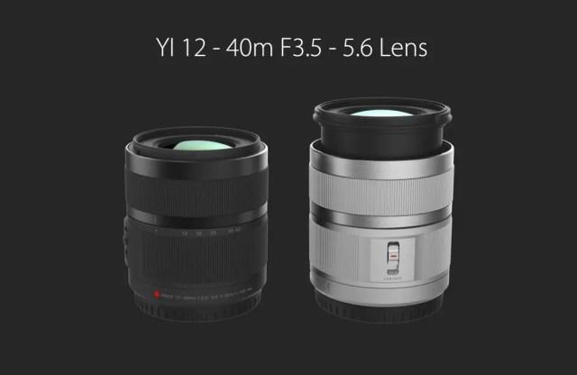 Xiaomi Yi Digital Camera M1 12-40m F3.5-5.6 Lens