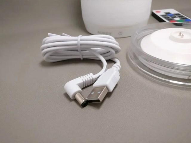 AUKEY LEDライト 花瓶 1W USB充電 LT-ST14  USB DCプラグケーブル