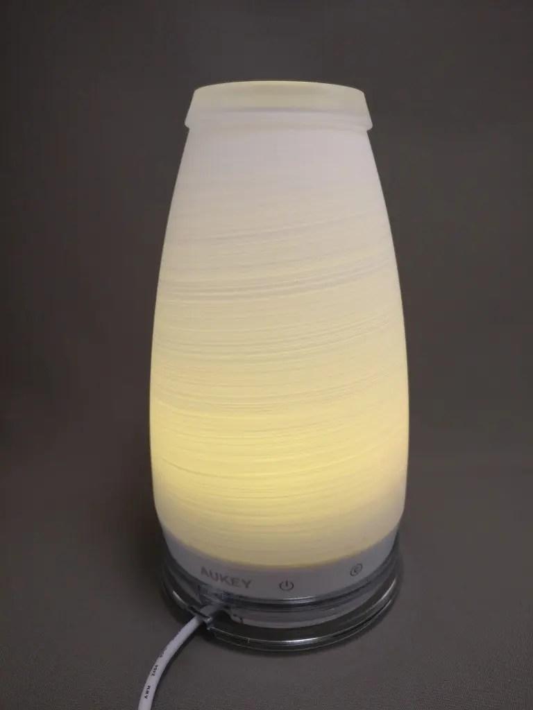 AUKEY LEDライト 花瓶 1W USB充電 LT-ST14 黄