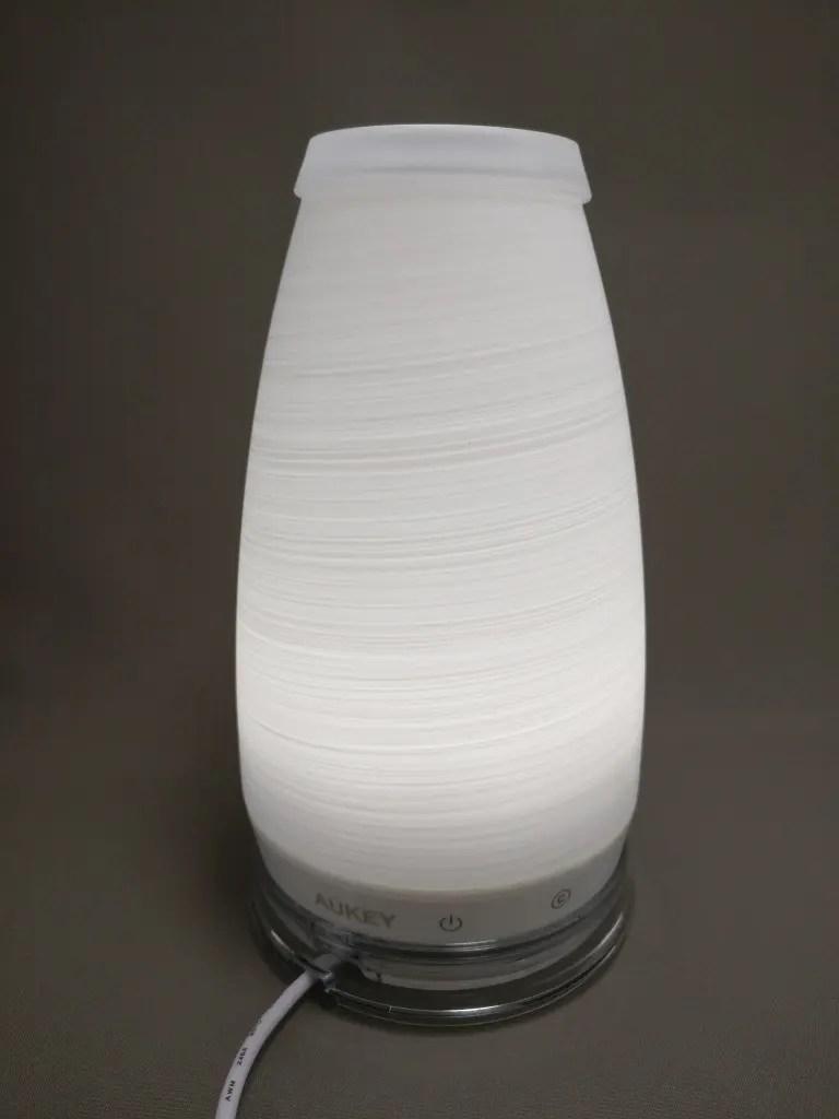 AUKEY LEDライト 花瓶 1W USB充電 LT-ST14 白