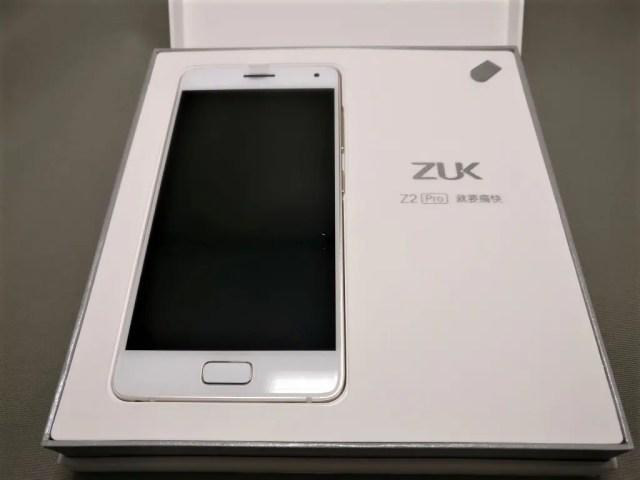 Lenovo ZUK Z2 Pro 開封 表