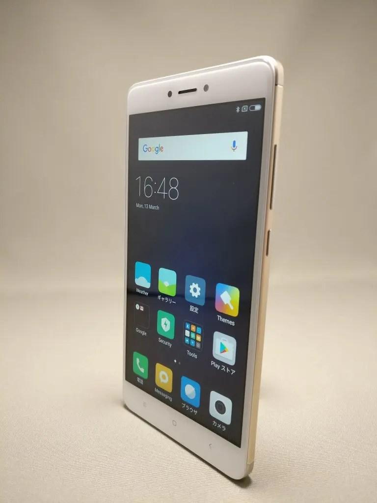 Xiaomi Redmi Note 4X 表面 2