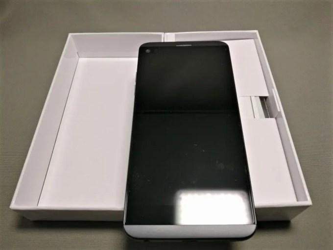 LG V20 Pro 開封 表面