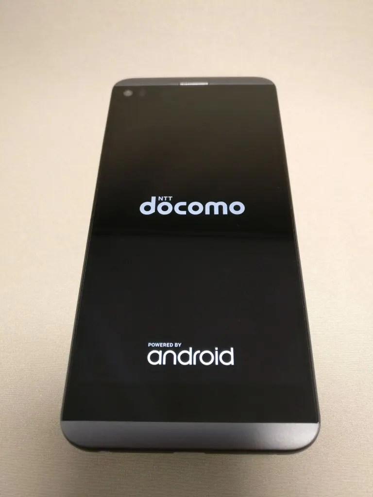 LG V20 Pro 起動 ドコモアイコン