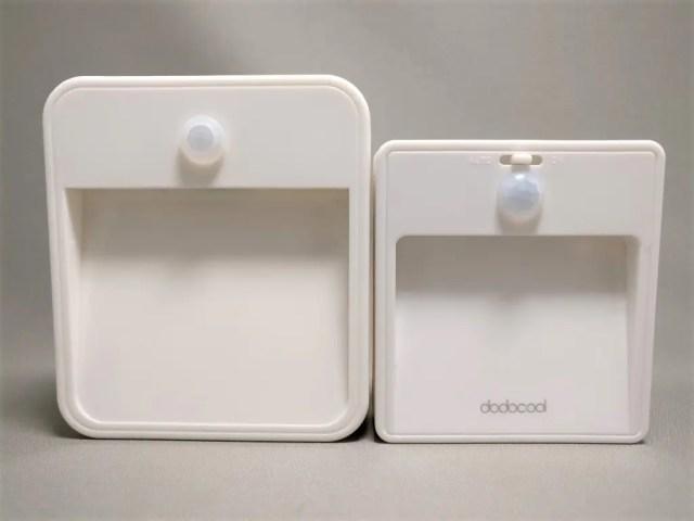 旧型dodocool LEDナイトライトと比較 表