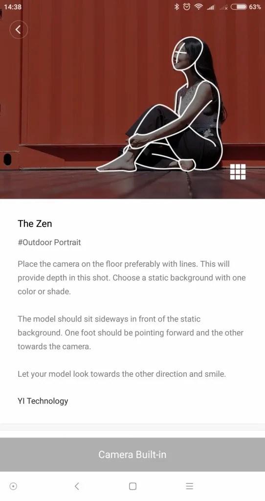 Yi M1 ポートレート The ZEN Lean