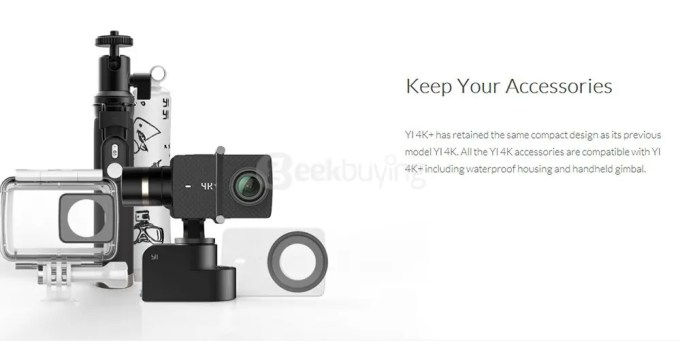 YI-4K-Plus-Ultra-HD-Action-Camera-Ambarella-H2-SONY-IMX377-Accessories