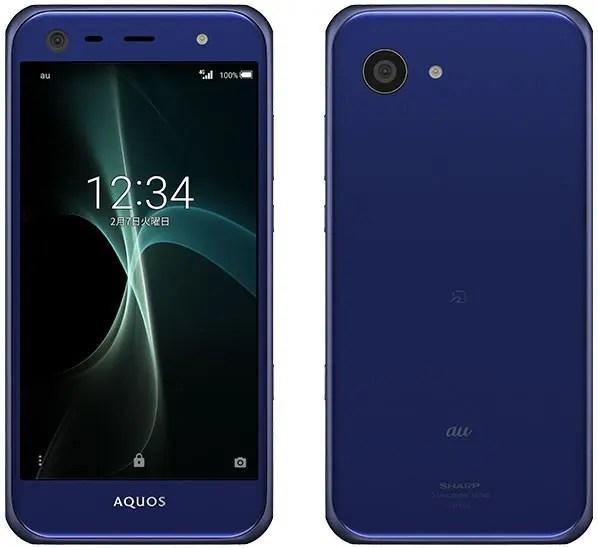AQUOS SERIE mini SHV38 Snapdragon 617 MSM8952 1.5GHz 8コア