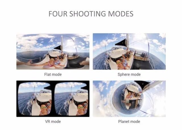 HIGOLE GOLE360 Panorama VR アプリ モード