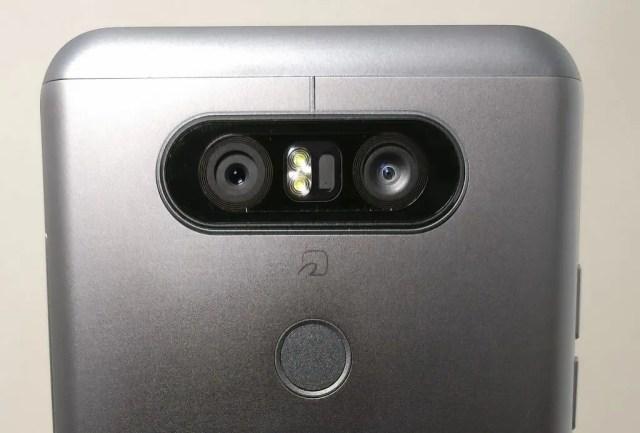 LG V20 Pro カメラ リアカメラ