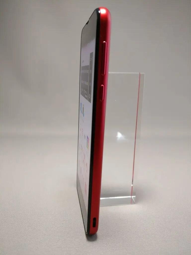 楽天モバイル シャープ SH-M04 表1