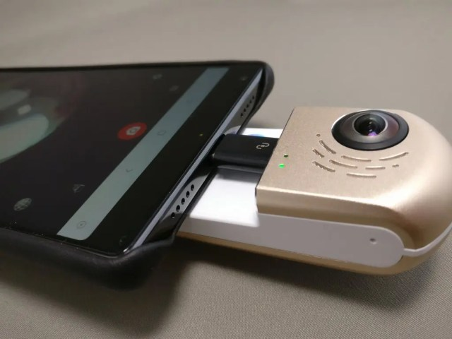 HIGOLE GOLE360 Panorama VR アクションカメラ 変換アダプタ