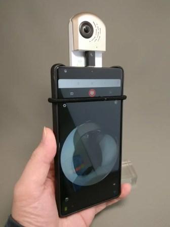 HIGOLE GOLE360 Panorama VR アクションカメラ 変換アダプタ いじくりだす ななめ