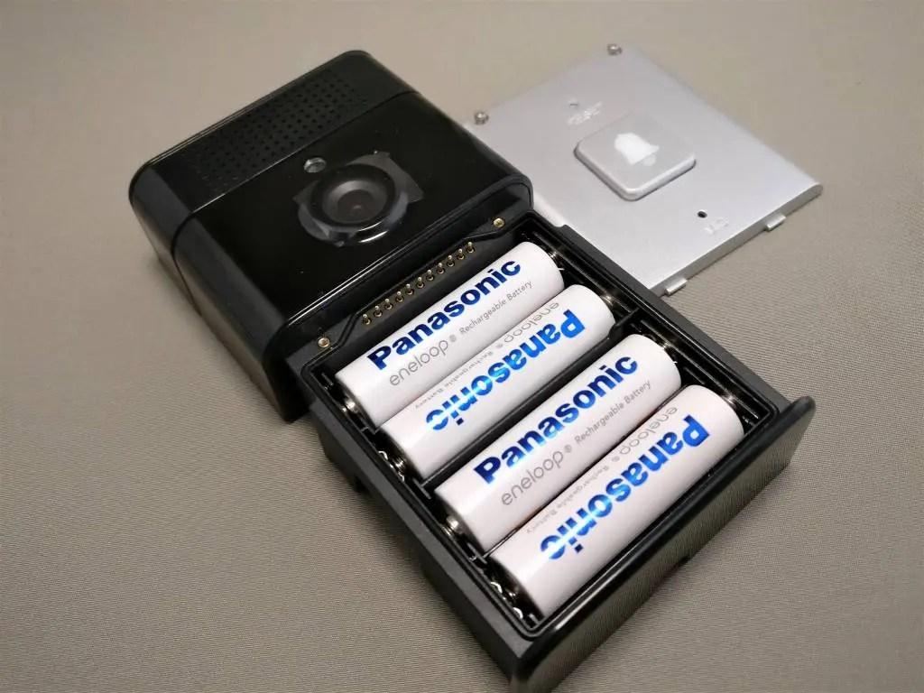 Digoo SB-XYZ ドアベル 単4電池4本 エネループ 4本