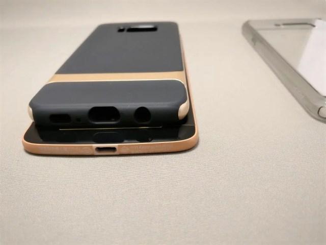 Galaxy S8 ケース は幅が狭すぎて入らない
