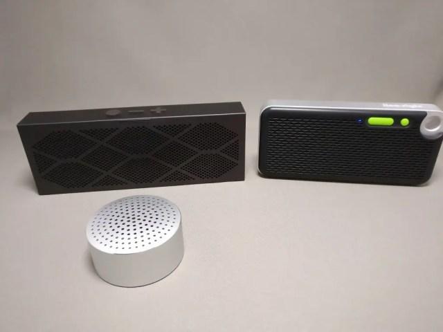 iina-style Bluetooth4.1スピーカー IS-BTSP03U 他のスピーカー 表 横