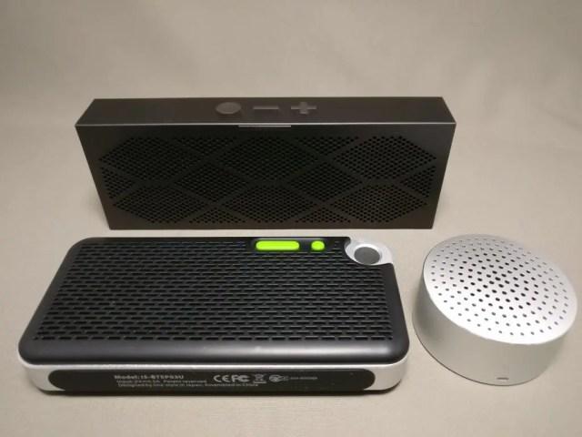 iina-style Bluetooth4.1スピーカー IS-BTSP03U 他のスピーカー 表