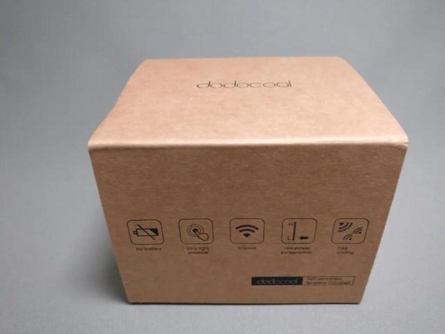 dodocool ドアベル 化粧箱 斜め