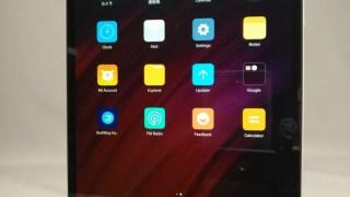 Xiaomi Mi Pad 3 開封の儀 レビュー