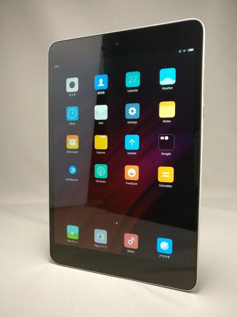 Xiaomi Mi Pad 3 表 10