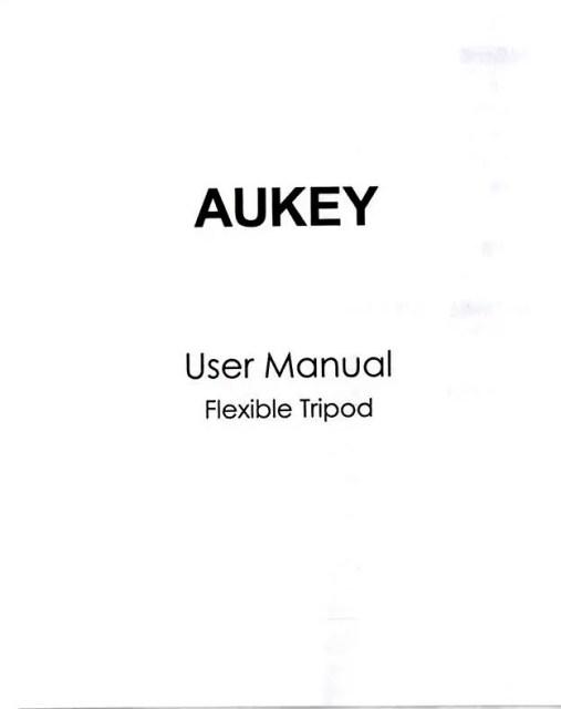 AUKEY スマートフォンホルダー+三脚 CP-T03 取説