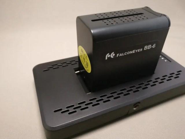 Andoer LEDビデオライト バッテリーケース セット