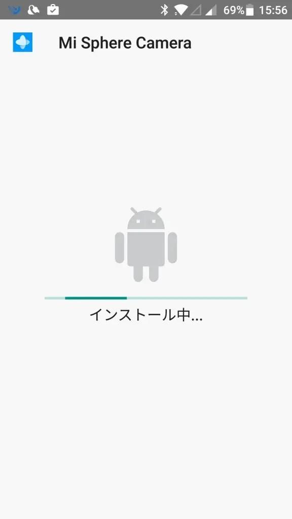 Xiaomi mijia 3.5K Panorama Action Camera アプリインストール