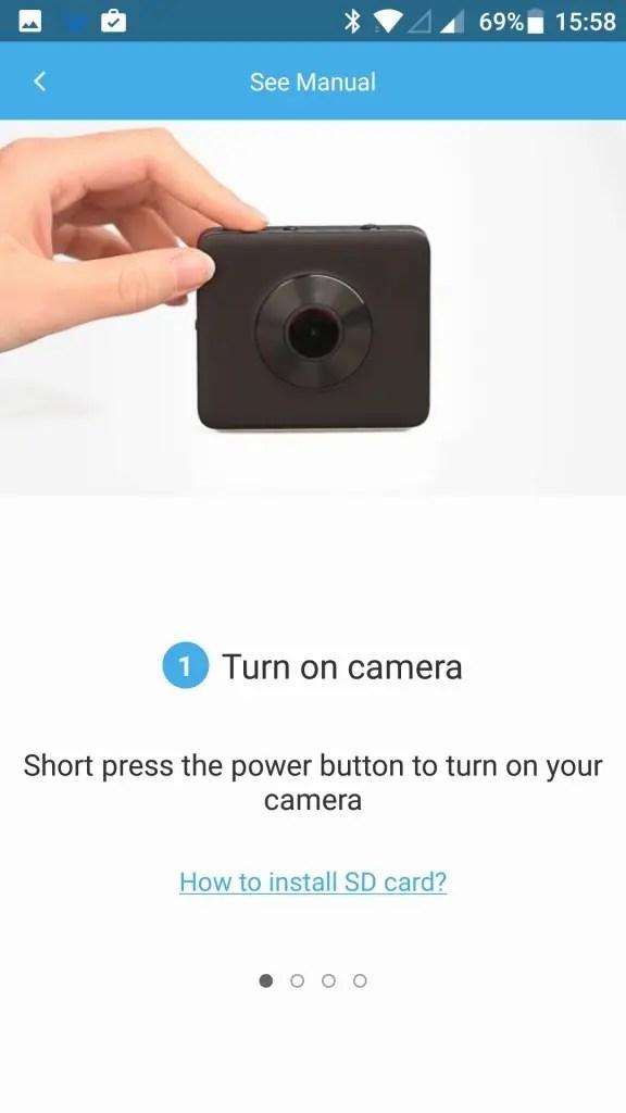 Mi Sphere Cameraアプリ 説明1