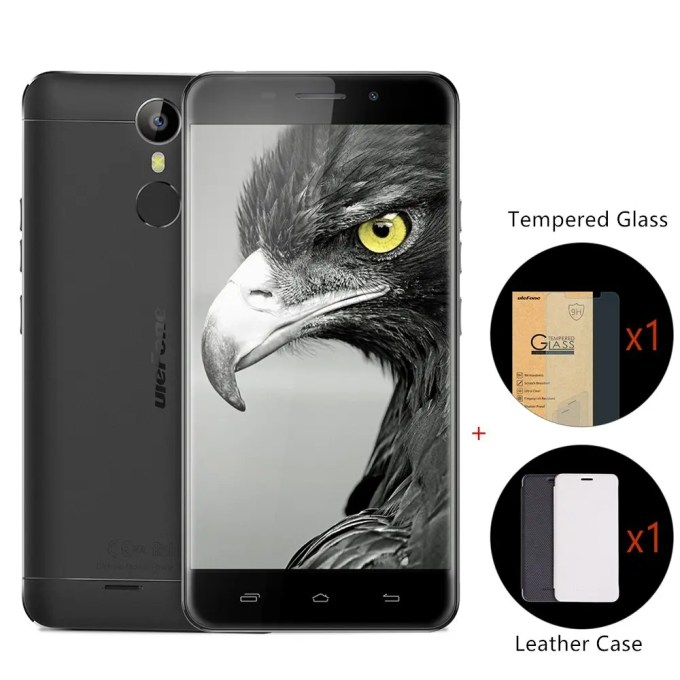 geekbuying Ulefone Metal MTK6753 1.3GHz 8コア BLACK(ブラック)