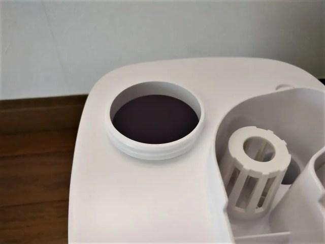 AUKEY 加湿器 超音波クールミスト加湿器 給水口
