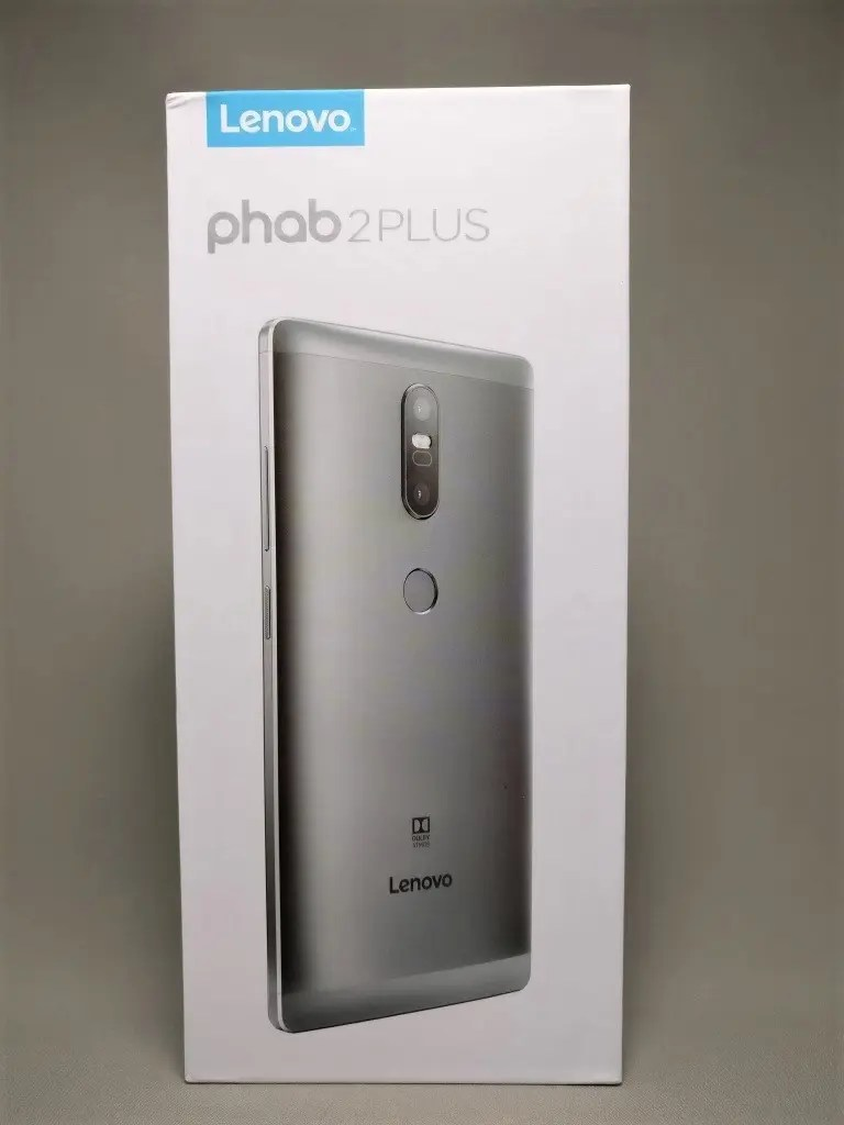 LENOVO Phab 2 Plus 化粧箱 前