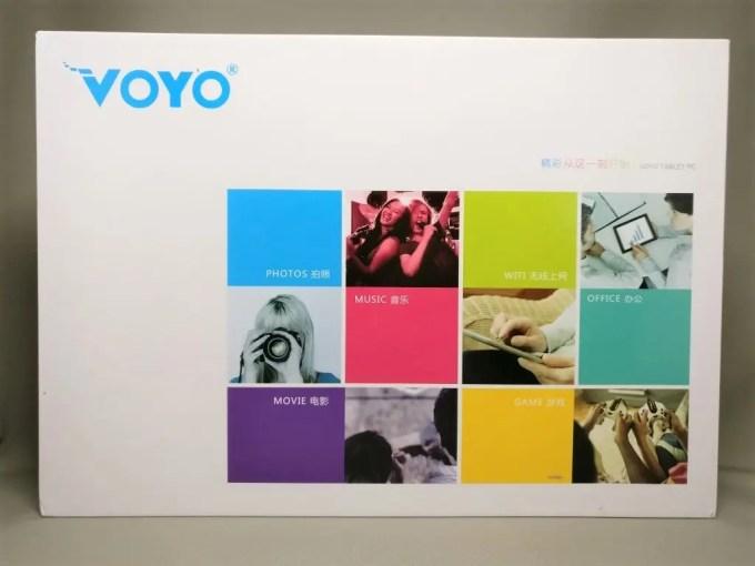 VOYO Vbook V2 化粧箱 表