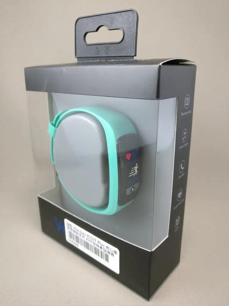 Makibes ID107 Plus Smart Bracelet 化粧箱 表 斜め