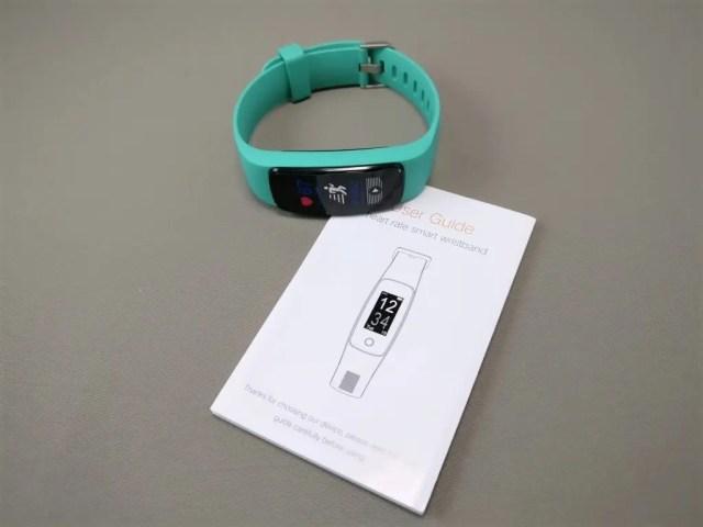 Makibes ID107 Plus Smart Bracelet バンド・取説