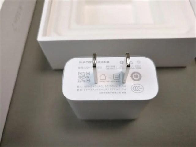 Xiaomi Mi Max 2 開封 USBアダプタ