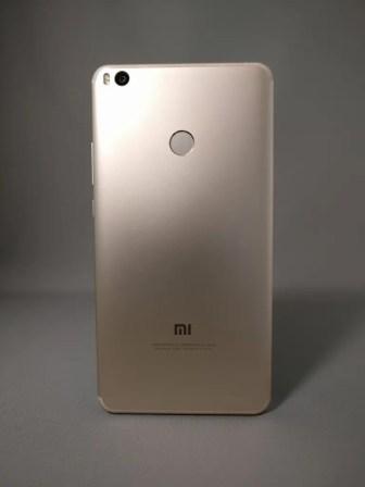 Xiaomi Mi Max 2 裏面 影7