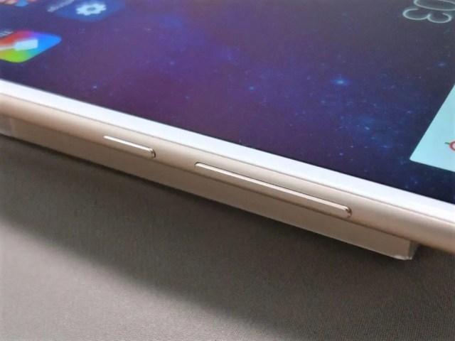 Xiaomi Mi Max 2 電源ボタン