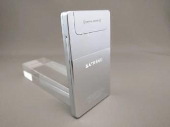 SATREND A10 GSM ミニカードフォン 裏左