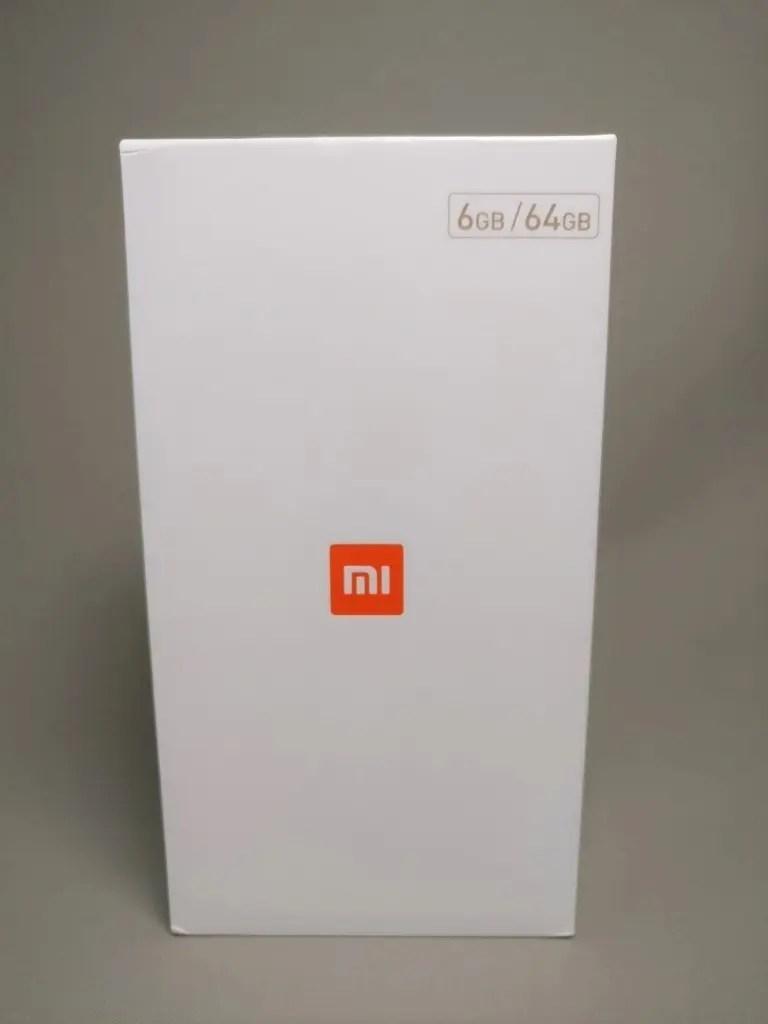 Xiaomi Mi6 化粧箱 表