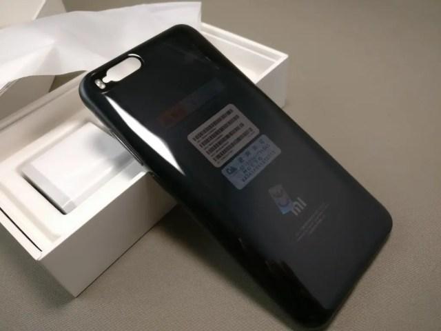 Xiaomi Mi6 開封 付属品 ソフトケース 装着