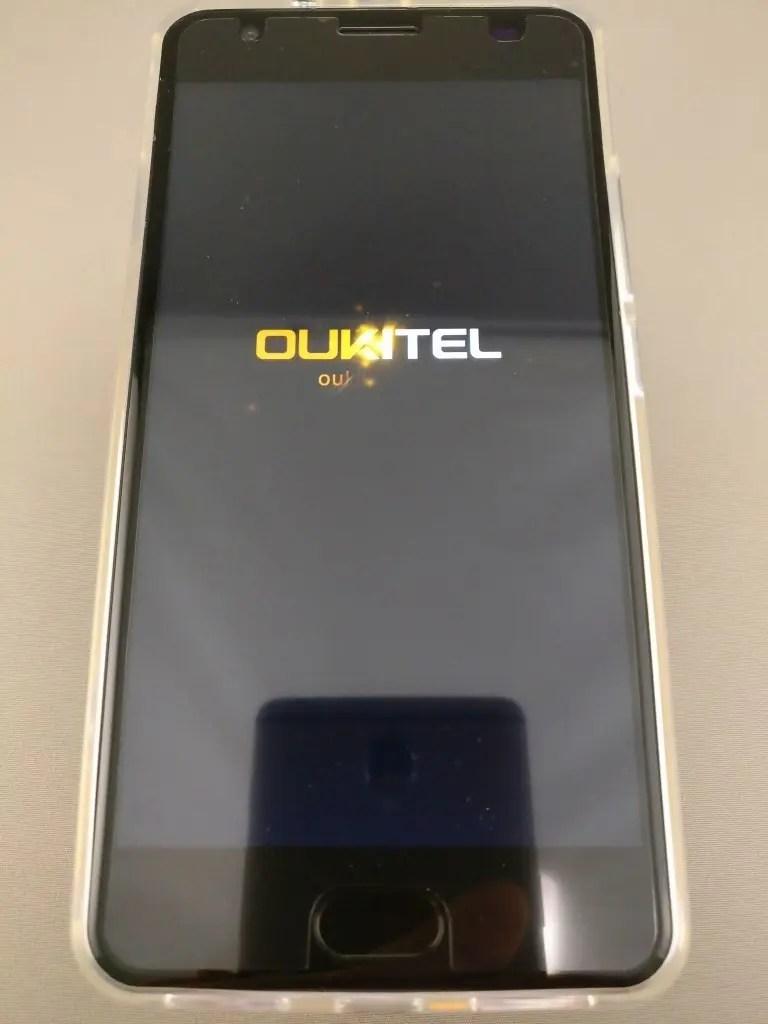 OUKITEL K6000 Plus 起動 7