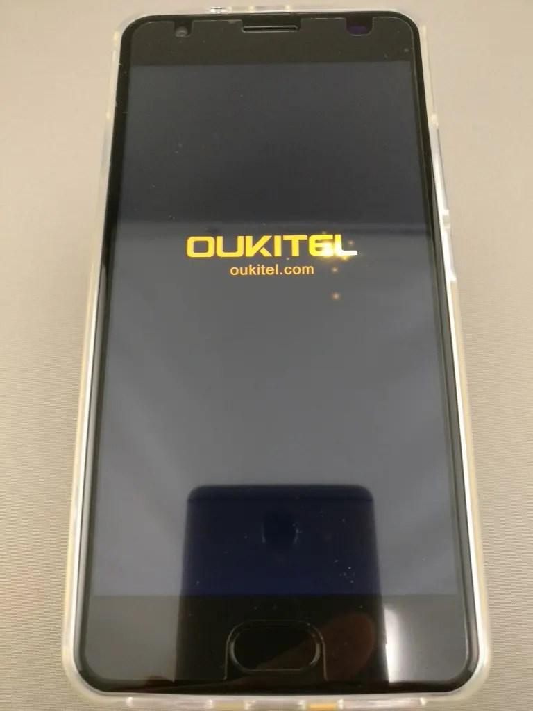 OUKITEL K6000 Plus 起動 3