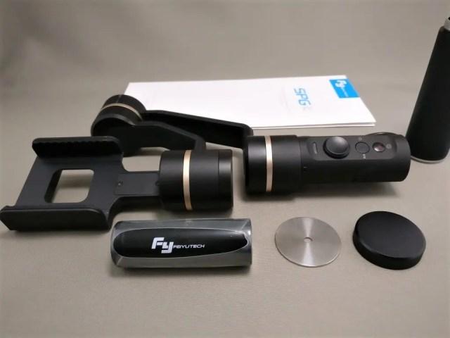 FeiyuTech SPG c 3軸 ハンドヘルド ジンバル スタビライザー セット2