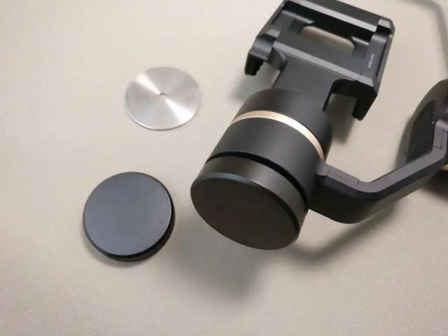 3軸ハンドヘルド ジンバル スタビライザー分銅